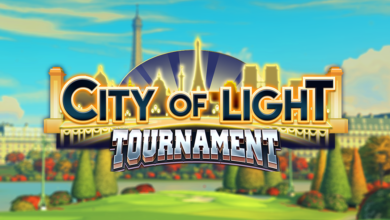 Bild von Golf Clash City of Light