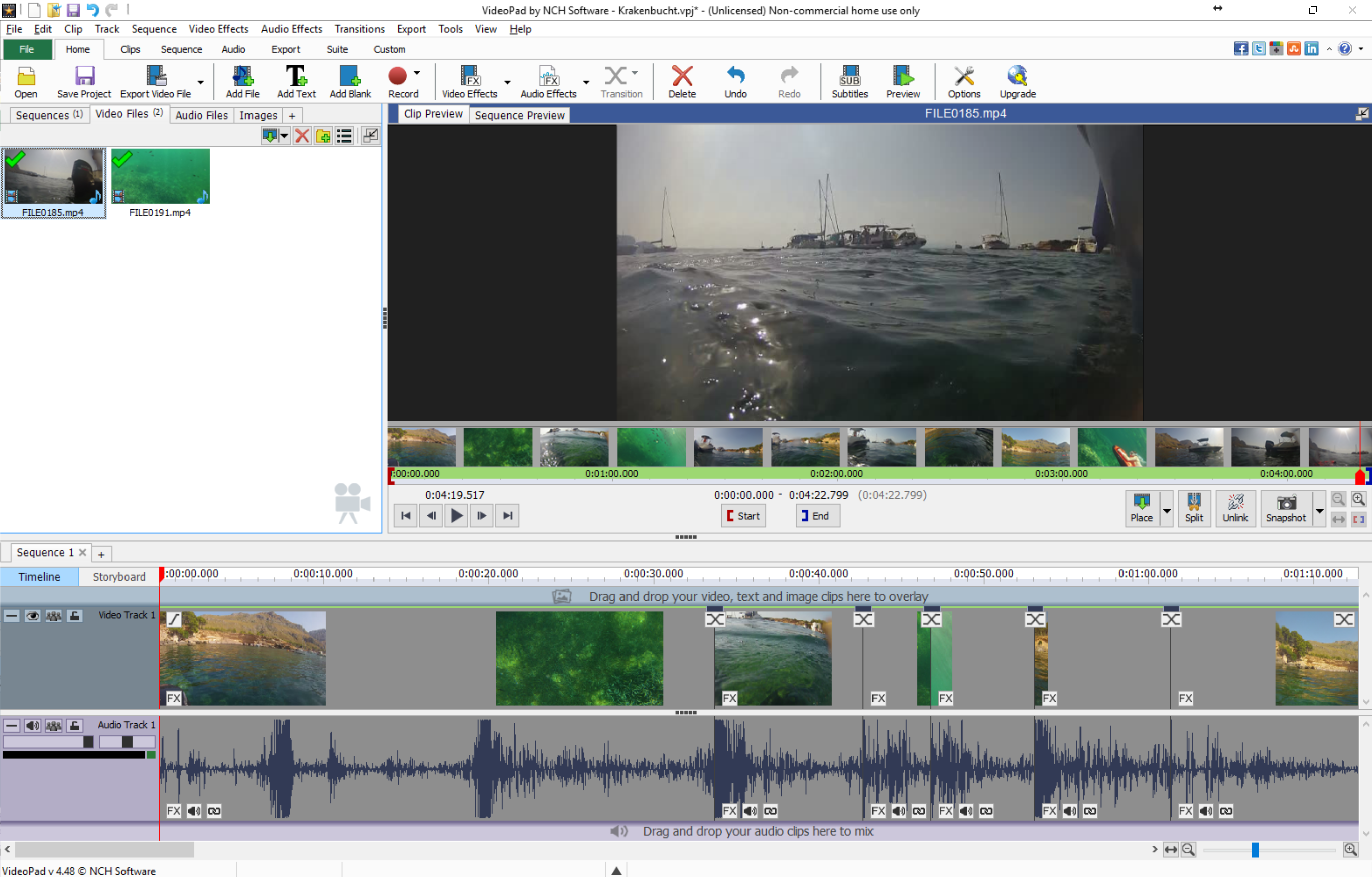 Photo of NCH VideoPad Video Editor