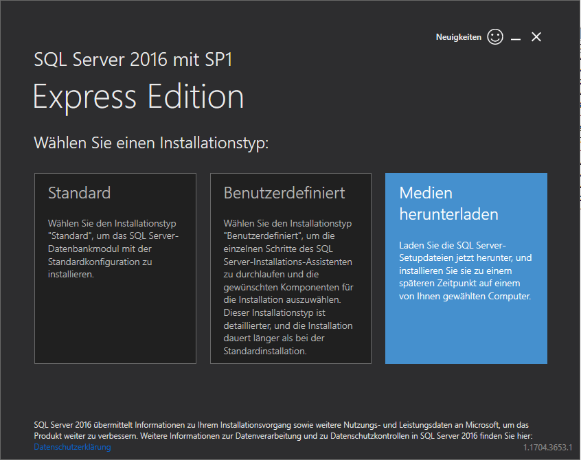 Photo of Microsoft SQL Server 2016 Express LocalDB